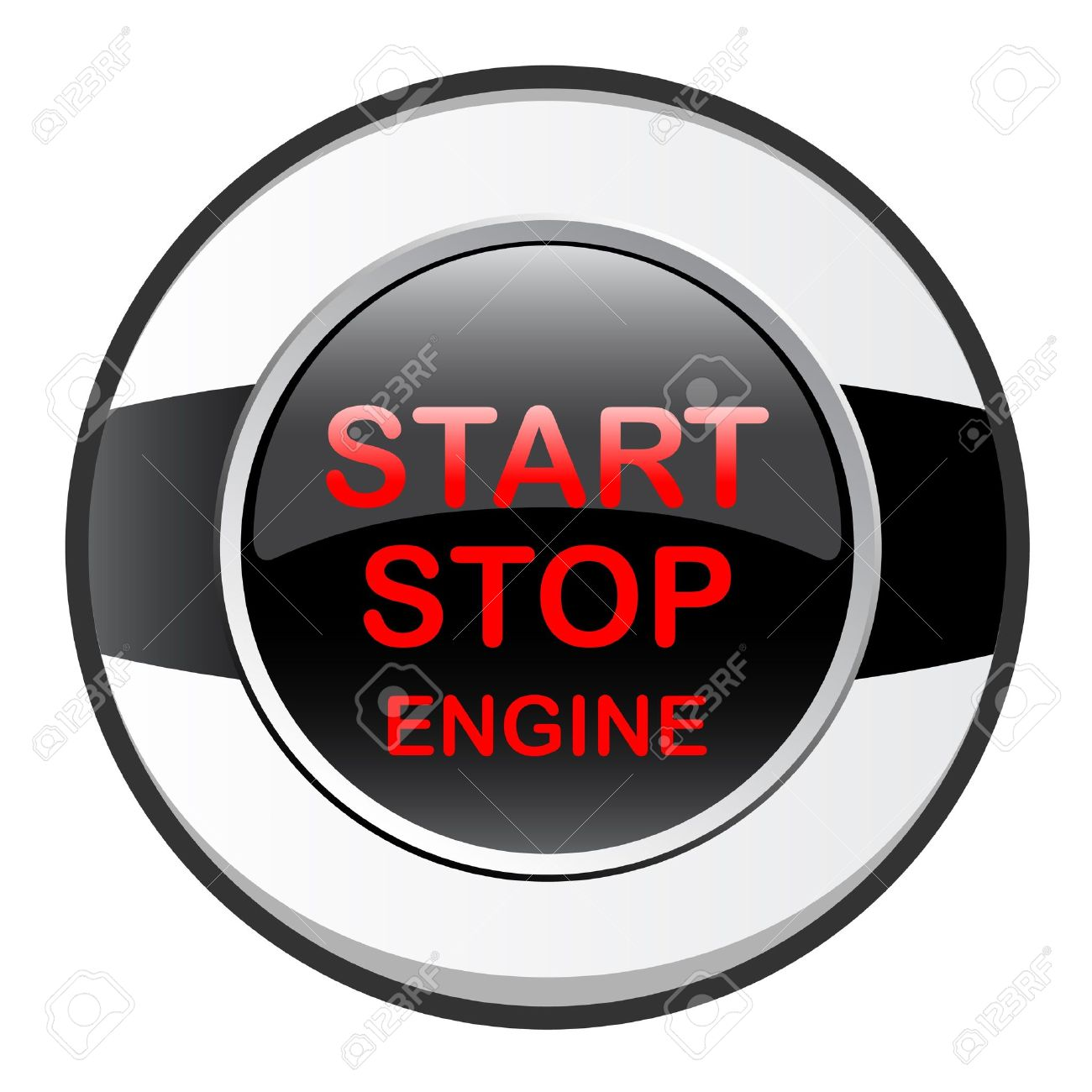 Stop Start Engine Royalty Free Cliparts, Vectors, And Stock.