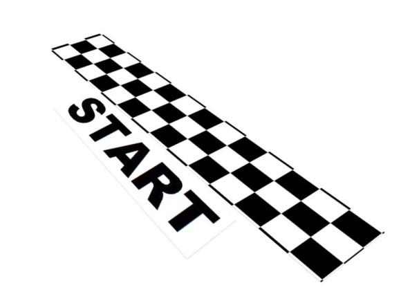 Starting Line Clip Art.
