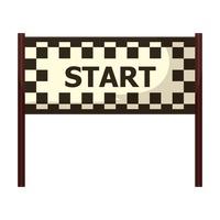 Start line clipart #6