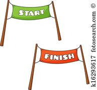 Start line Clipart and Illustration. 4,476 start line clip art.