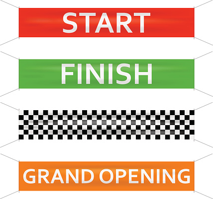 Starting Line Clip Art.
