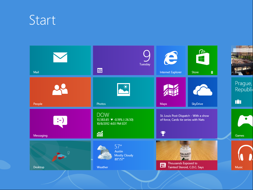 Windows 7 start menu clipart.
