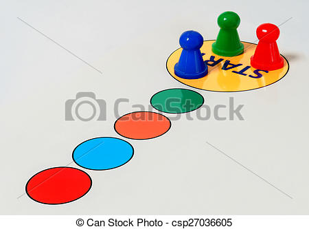 Stock Photography of Game start.