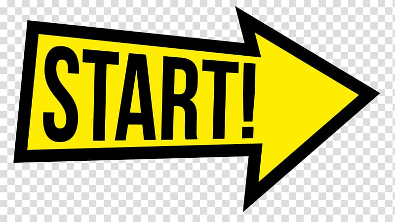 Traffic sign Logo Brand Line , Start Race transparent.