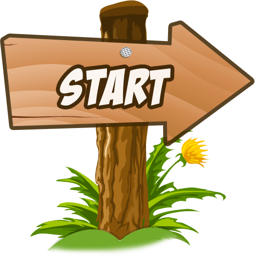 Start Arrow free clipart.