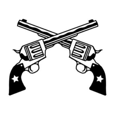 Pistol Pete Clipart.