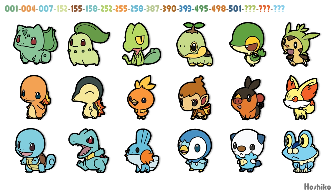 Entries by Zeiphyr tagged Starter Pokémon.