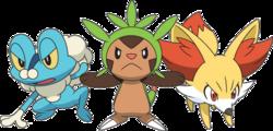 Starter Pokémon.