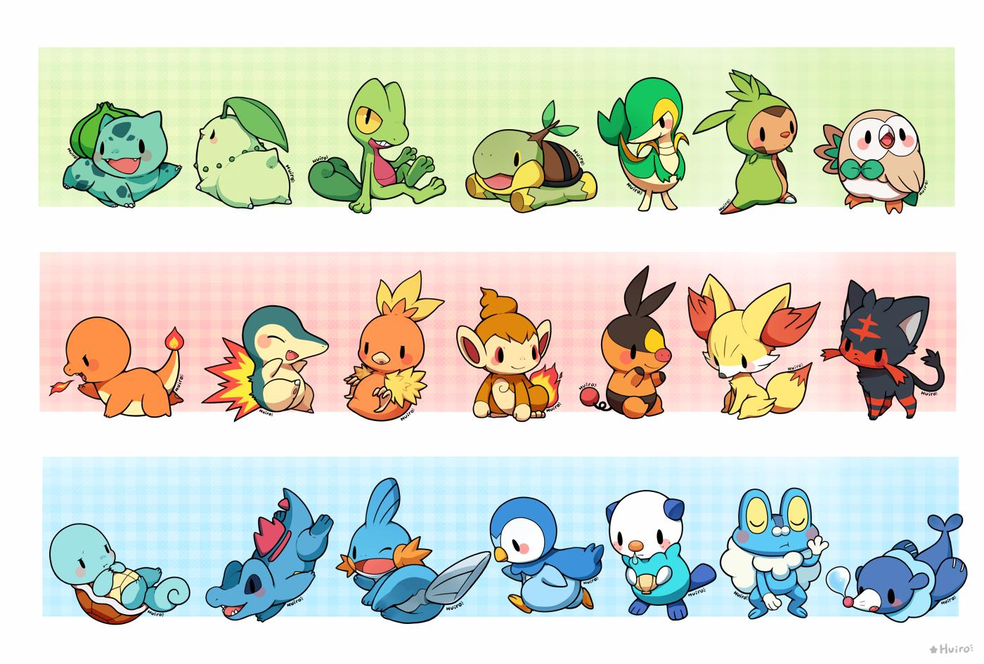 Starter Pokemon.