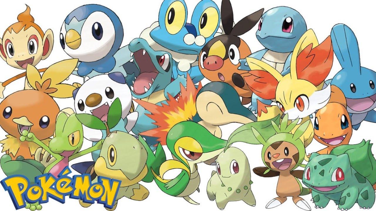 Top 10 Starter Pokémon.
