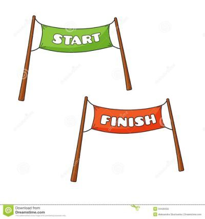 Pics For > Starting Line Clip Art.