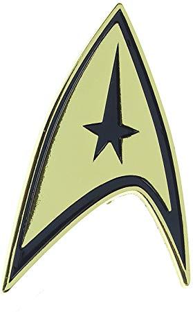 Bioworld Star Trek Command Badge Pin.
