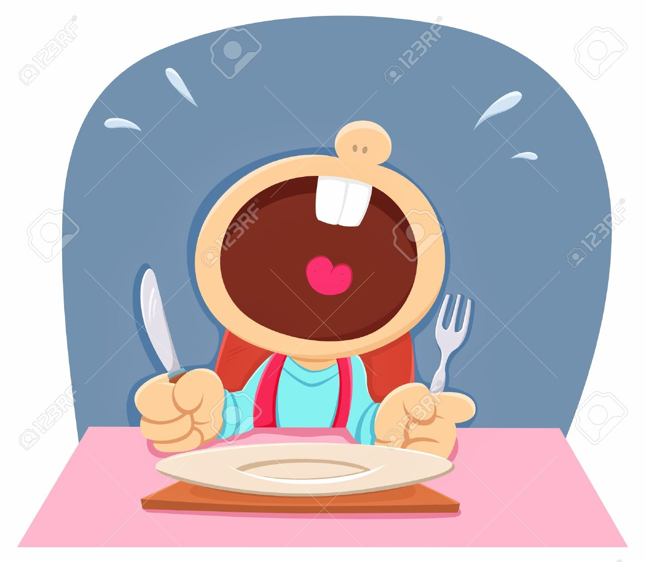 Hungry Child Royalty Free Cliparts, Vectors, And Stock.