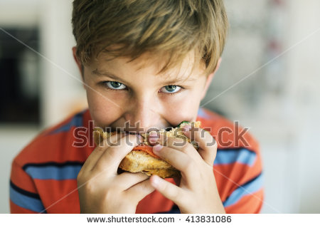 Hungry Child Stock Photos, Royalty.