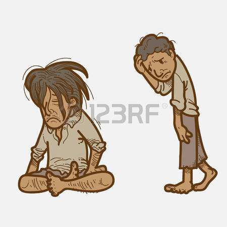 64 Starving Man Stock Vector Illustration And Royalty Free.