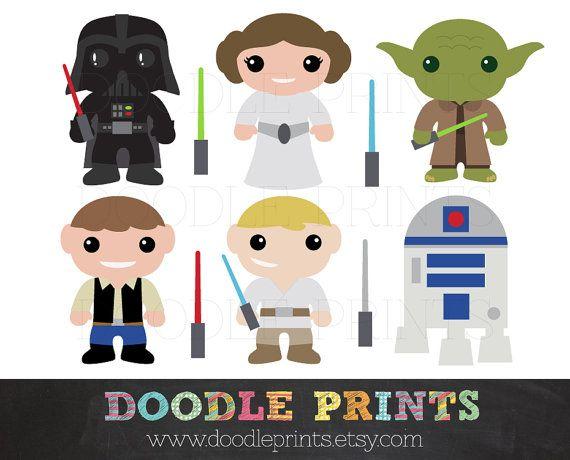 Star Wars Cute Clipart.
