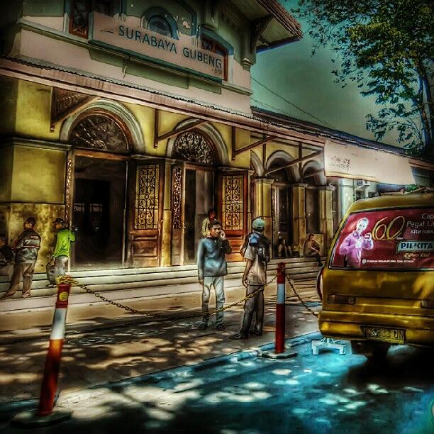 Gubeng #Train #Station / stasiun #Gubeng Lama #Surabaya. #….
