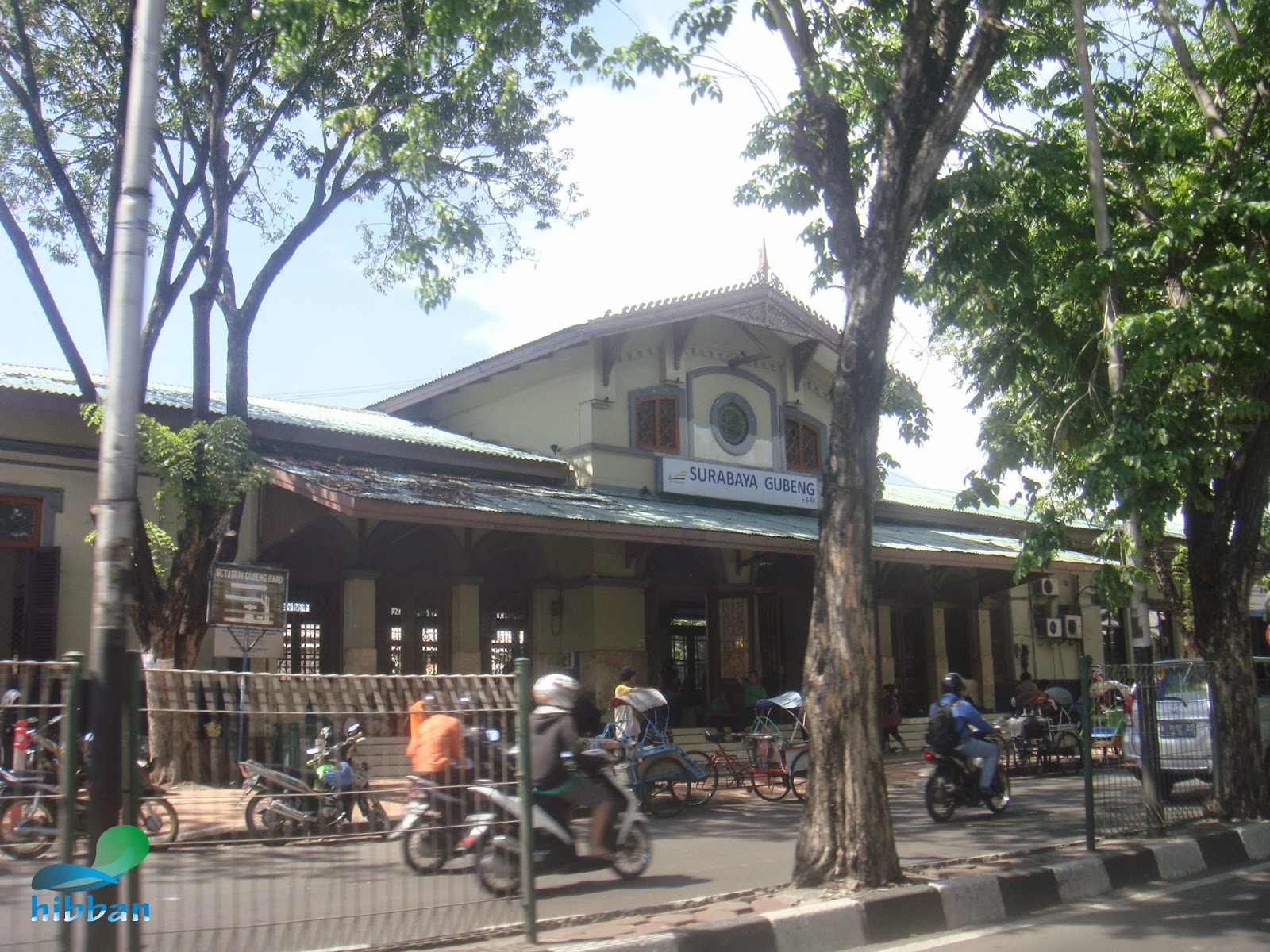 info.okeygan: Stasiun Gubeng Lama Surabaya Jawa Timur.