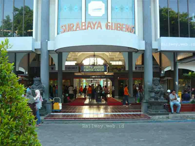 Jadwal Kedatangan/Keberangkatan Stasiun Gubeng Surabaya.