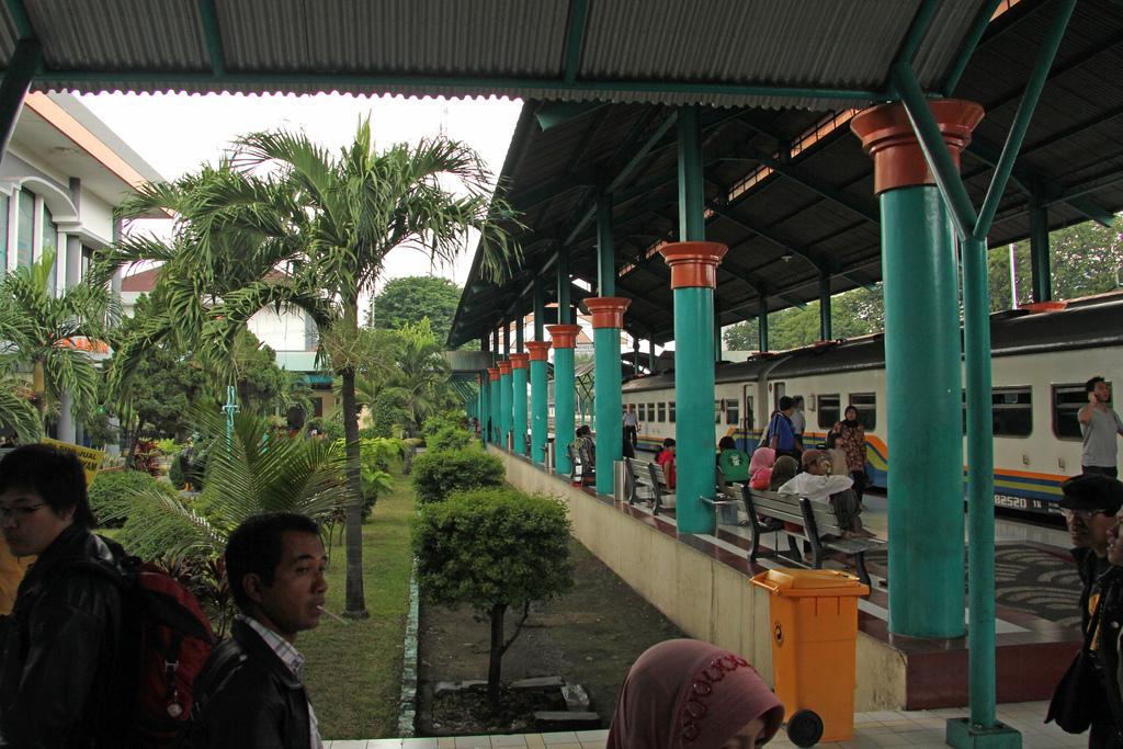 Stasiun Gubeng Surabaya (Java.