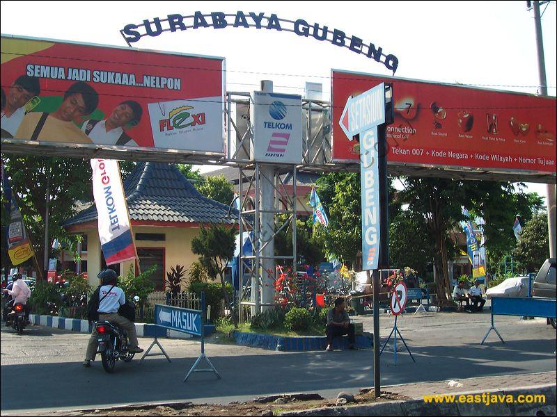 Galeri Foto Stasiun Gubeng Kota Surabaya.
