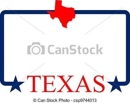 State flag border clipart.