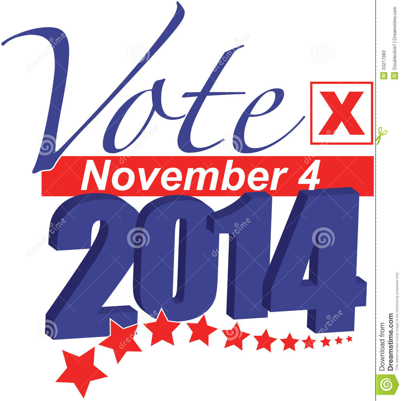 Election Day 2014 Clipart.