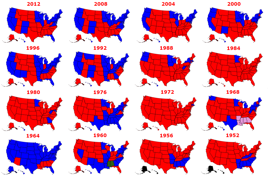 The Results of Every Presidential Election in History.