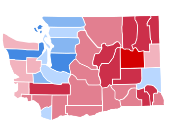 United States presidential election in Washington (state), 2016.