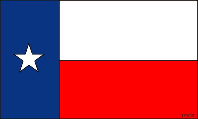 Texas state flag clipart.
