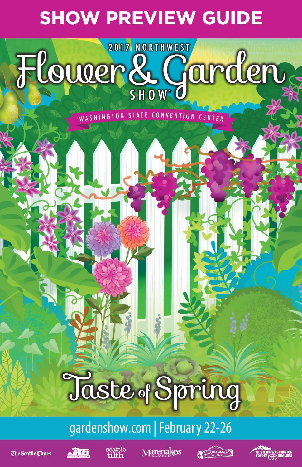 2017 Northwest Flower & Garden Show.