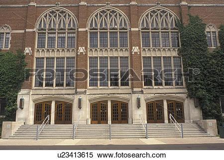 Stock Image of university, East Lansing, MI, Michigan, MSU.