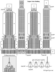 www.mr2arquitectos.com Cardboard skyscraper: Empire State Building.