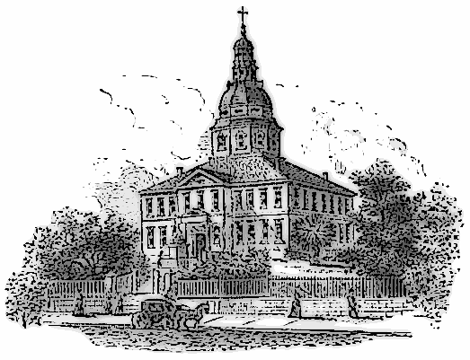 State House Annapolis Clip Art Download.