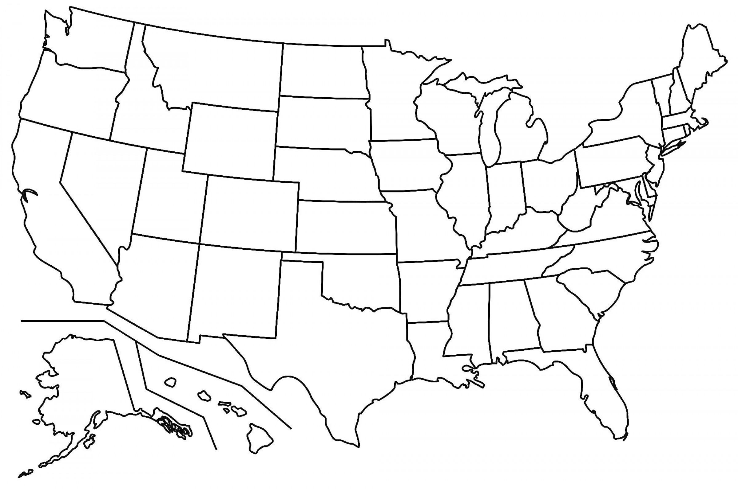 Best Free Us States Outline Clip Art Pictures ~ Vector.