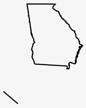 Georgia Outline PNG & Download Transparent Georgia Outline.