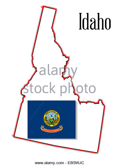 Idaho State Map Stock Photos & Idaho State Map Stock Images.