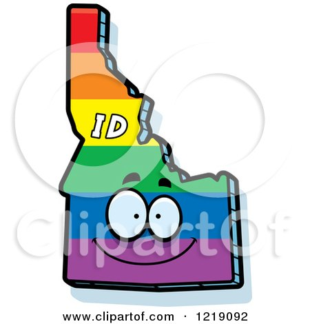 state of idaho clipart color customizer #2