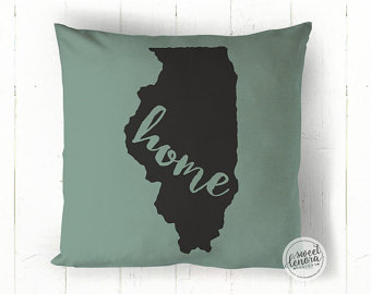 Illinois pillow.
