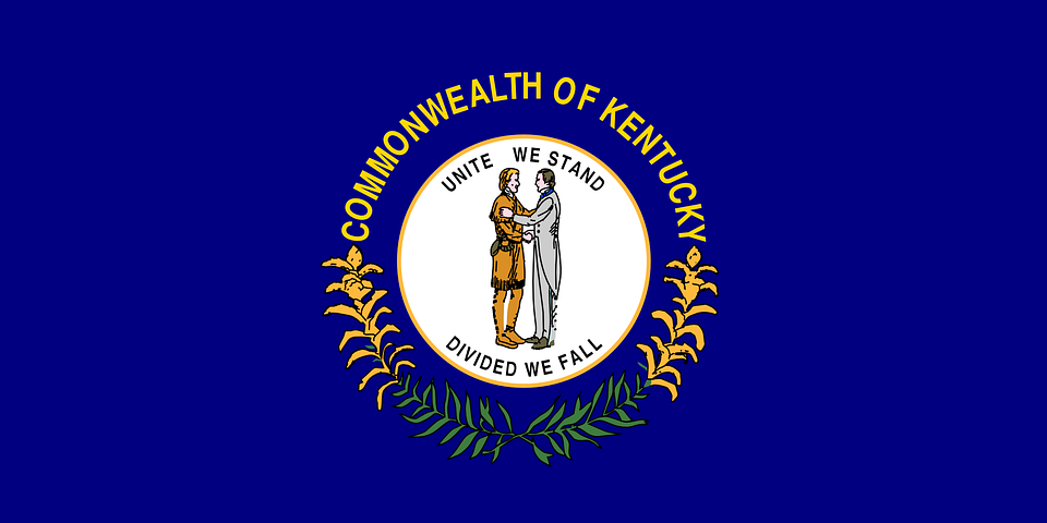 State Of Kentucky Flag Clipart.