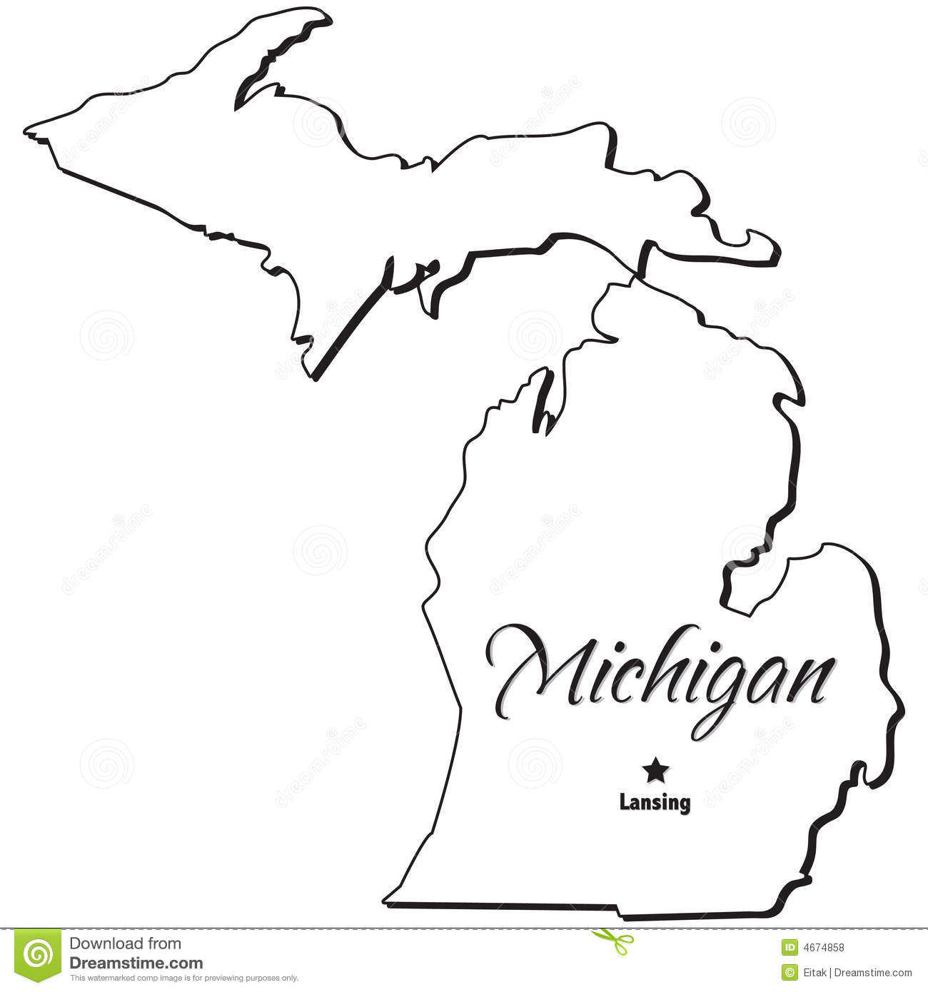 State of Michigan Outline.