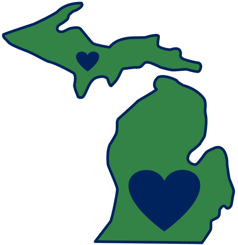 State Of Michigan Clipart.