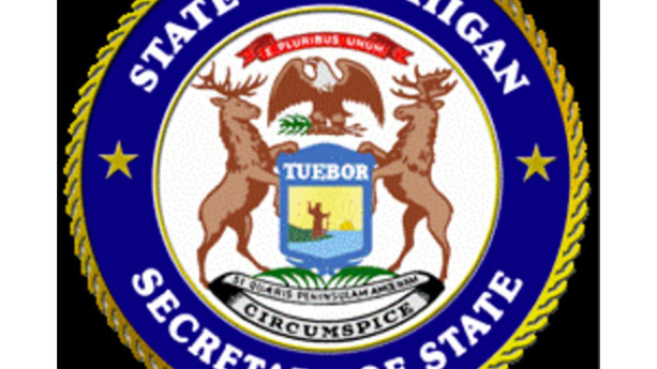 State of Michigan experiencing computer network outage.