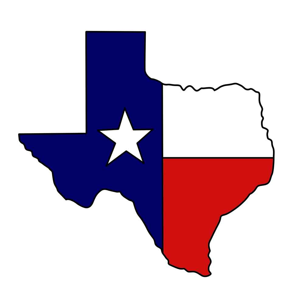 State Of Texas Image.