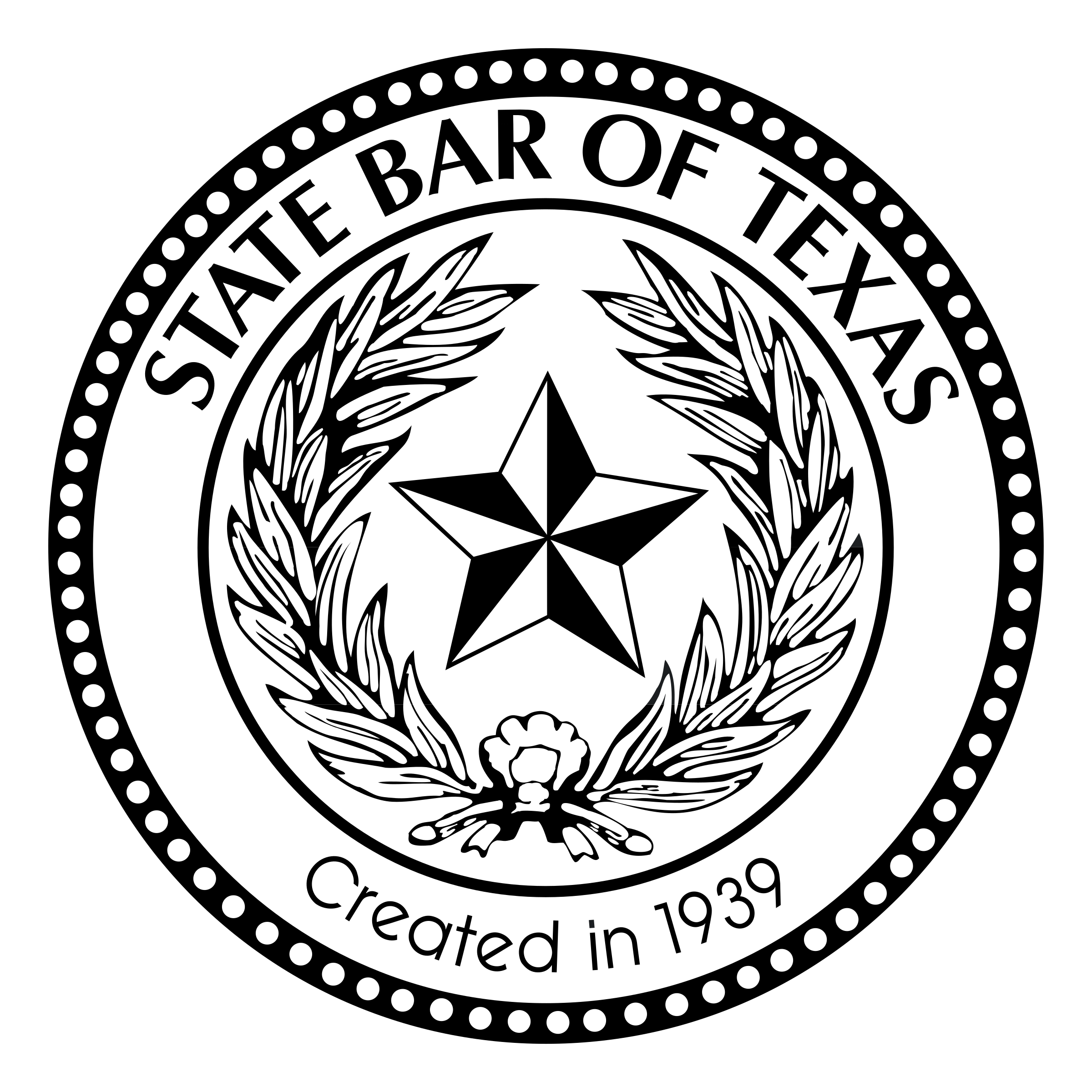 State Bar of Texas Logo PNG Transparent & SVG Vector.