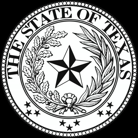 Texas State Seal wallpaper.