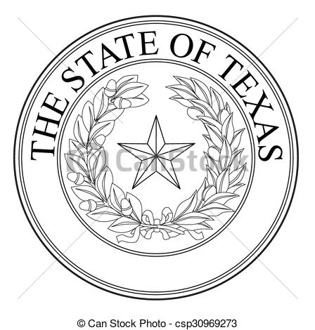 The State Of Texas Seal.