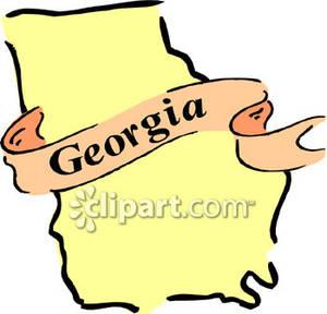 State of georgia clip art.