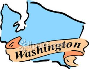 State of washington clip art.