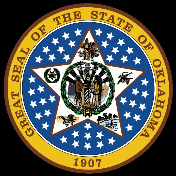 Oklahoma State Seal Clipart.